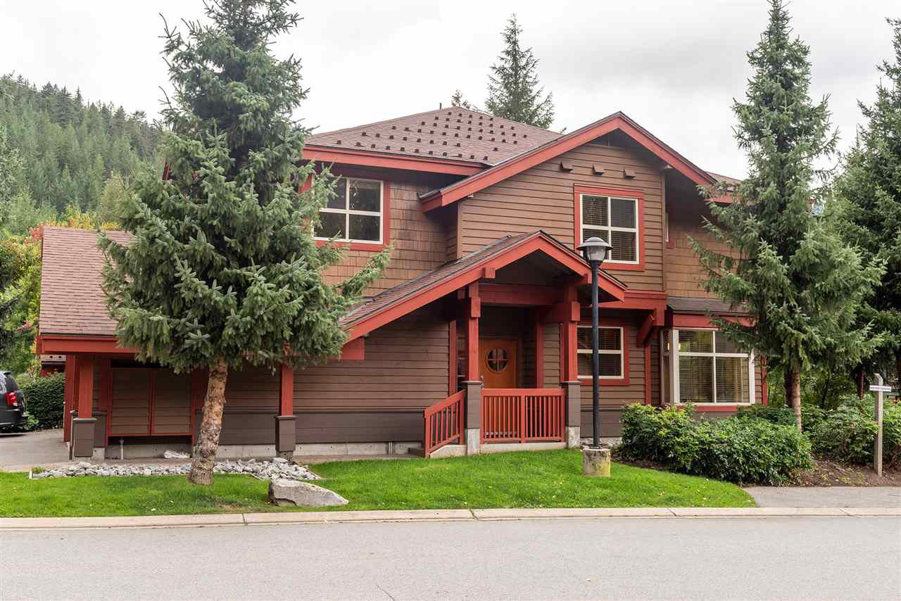 """Main Photo: 4 1530 TYNEBRIDGE Lane in Whistler: Spring Creek Townhouse for sale in """"The Glades"""" : MLS®# R2406600"""