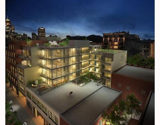 """Main Photo: 601 12 WATER Street in Vancouver: Downtown VW Condo for sale in """"THE GARAGE"""" (Vancouver West)  : MLS®# V657724"""