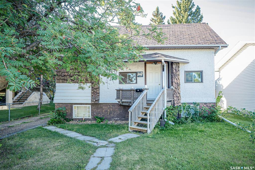 Main Photo: 107 Powe Street in Saskatoon: Sutherland Residential for sale : MLS®# SK826213