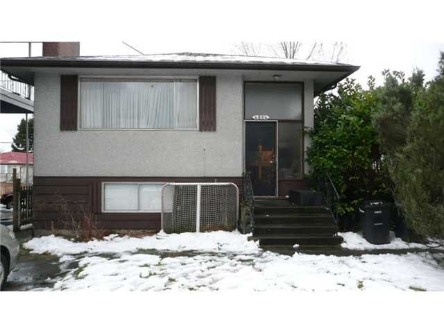Main Photo: 4804 FRANCES ST in Burnaby: Capitol Hill BN House for sale (Burnaby North)  : MLS®# V874144
