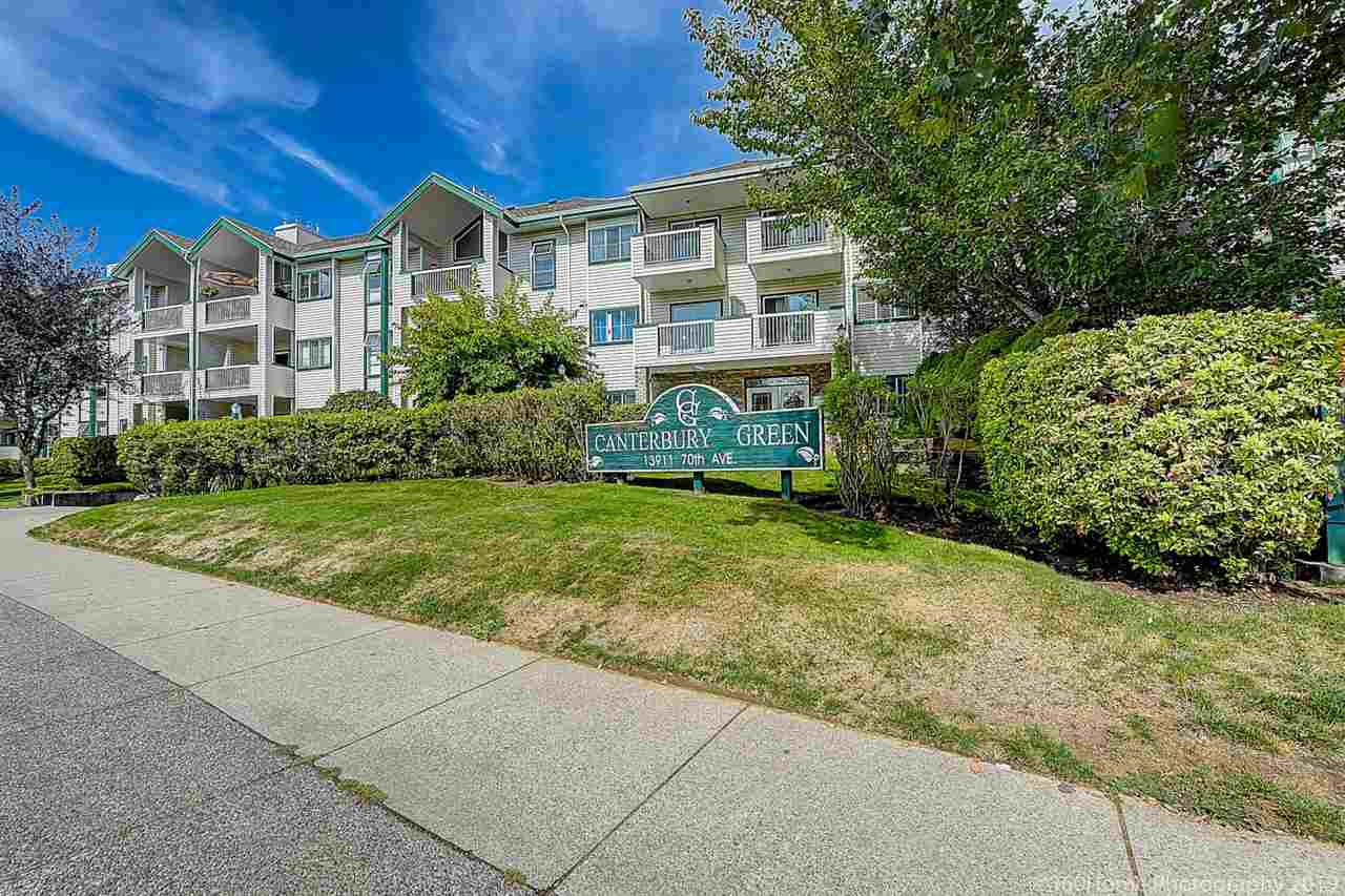 Main Photo: 203 13911 70 Avenue in Surrey: East Newton Condo for sale : MLS®# R2405127