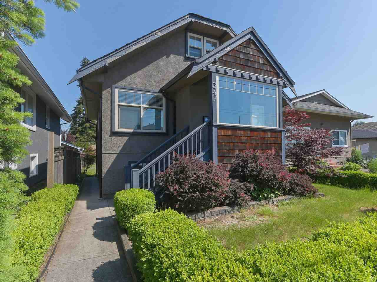 Main Photo: 347 E 41ST Avenue in Vancouver: Main House for sale (Vancouver East)  : MLS®# R2410368