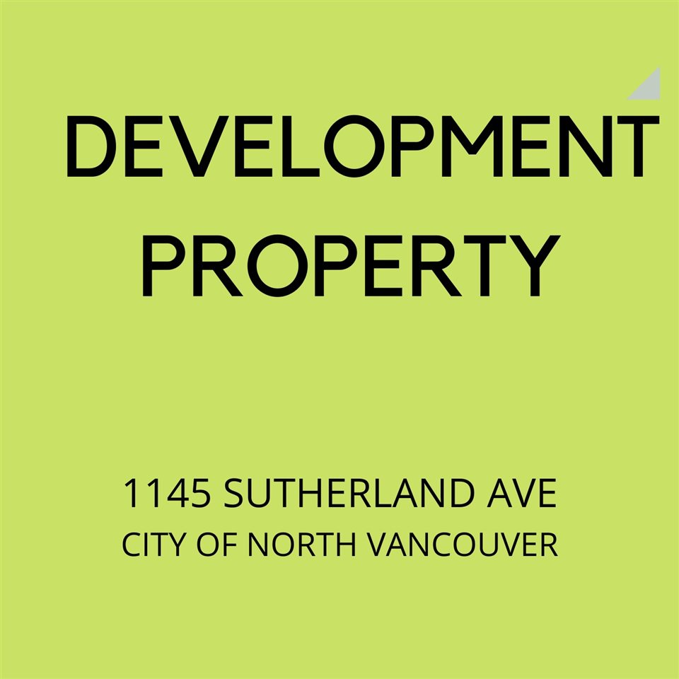 Main Photo: 1145 SUTHERLAND Avenue in North Vancouver: Boulevard House for sale : MLS®# R2476708