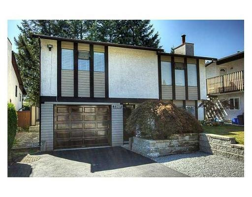 Main Photo: 3160 BOWEN DR in Coquitlam: New Horizons House for sale : MLS®# V856642