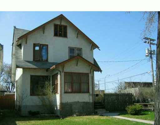Main Photo: 190 CATHEDRAL Avenue in Winnipeg: North End Duplex for sale (North West Winnipeg)  : MLS®# 2605667