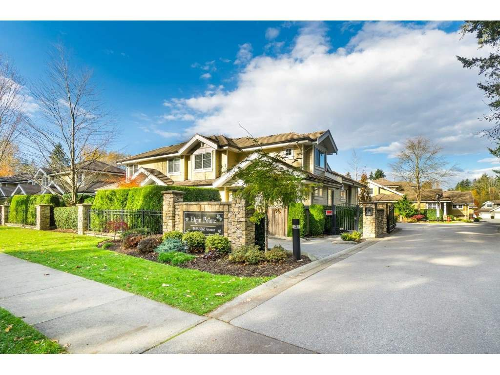 """Main Photo: 69 14655 32 Avenue in Surrey: Elgin Chantrell Townhouse for sale in """"Elgin Pointe"""" (South Surrey White Rock)  : MLS®# R2515741"""