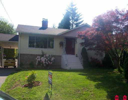 Main Photo: 10832 145A ST in Surrey: Bolivar Heights House for sale (North Surrey)  : MLS®# F2611296