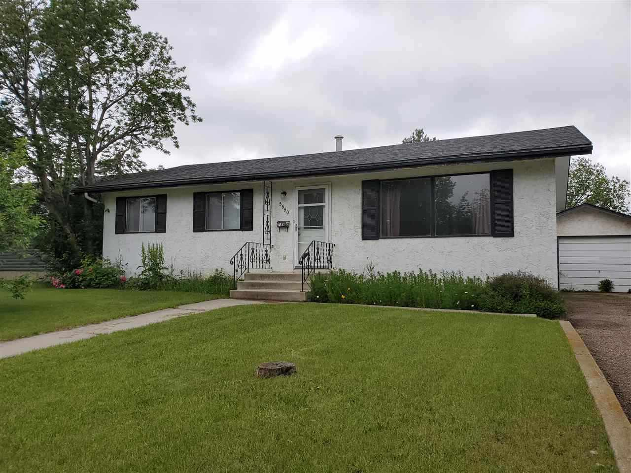 Main Photo: 5550 55A Street: Wetaskiwin House for sale : MLS®# E4170294