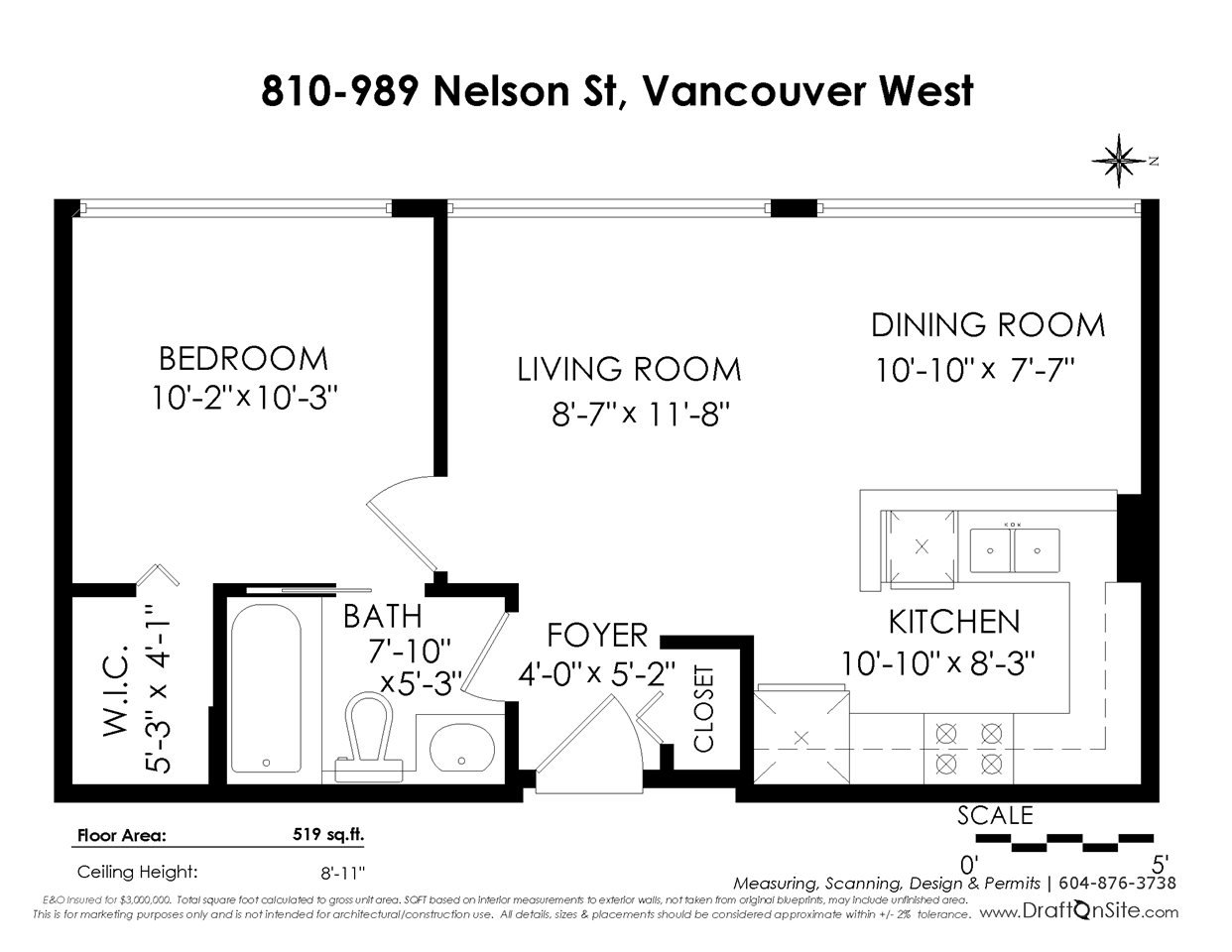 """Photo 20: Photos: 810 989 NELSON Street in Vancouver: Downtown VW Condo for sale in """"ELECTRA"""" (Vancouver West)  : MLS®# R2409945"""