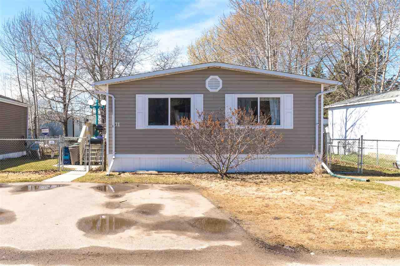 Main Photo: 71 4405 50 Avenue: Cold Lake Mobile for sale : MLS®# E4170031