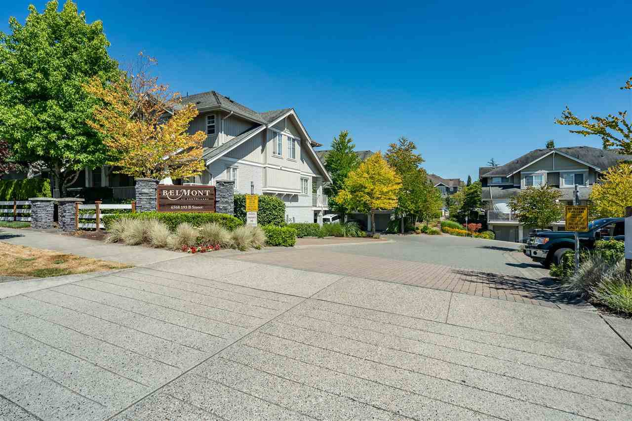 "Main Photo: 23 6568 193B Street in Surrey: Clayton Townhouse for sale in ""Belmont at Southlands"" (Cloverdale)  : MLS®# R2483175"