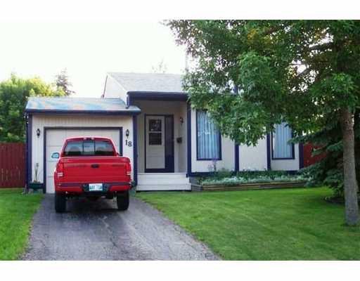 Main Photo: 18 HOBSON Place in WINNIPEG: Fort Garry / Whyte Ridge / St Norbert Single Family Detached for sale (South Winnipeg)  : MLS®# 2706650