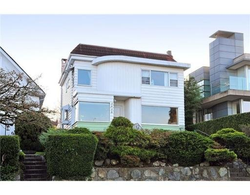 Main Photo: 2920 W 27TH AV in Vancouver: House for sale : MLS®# V870598