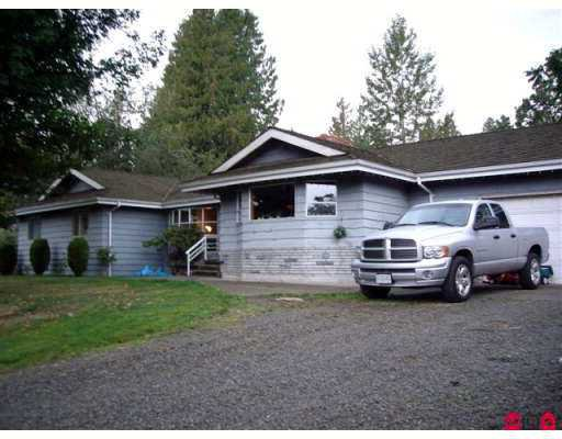 "Main Photo: 28709 DOWNES Road in Abbotsford: Aberdeen House for sale in ""Bradner"" : MLS®# F2725341"