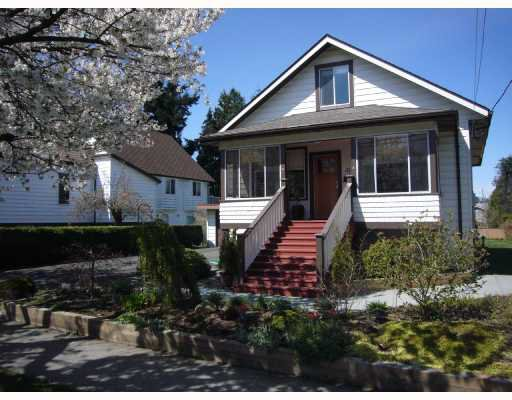 """Main Photo: 311 SEVENTH Avenue in New_Westminster: GlenBrooke North House for sale in """"GLENBROOKE NORTH"""" (New Westminster)  : MLS®# V703619"""