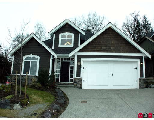 Main Photo: # 45 3800 GOLF COURSE DR in Abbotsford: House for sale : MLS®# F2901225