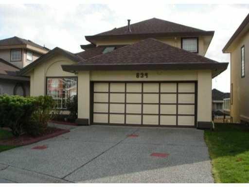 Main Photo: 834 Mclennan Court in Citadel, Port Coquitlam: Citadel PQ House for sale (Port Coquitlam)  : MLS®# V813660