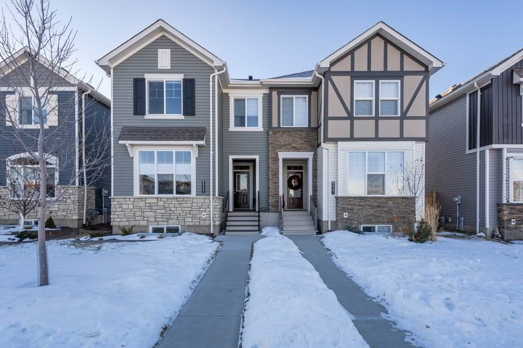 Main Photo: 8065 Chappelle Way in Edmonton: Zone 55 House Half Duplex for sale : MLS®# E4224476