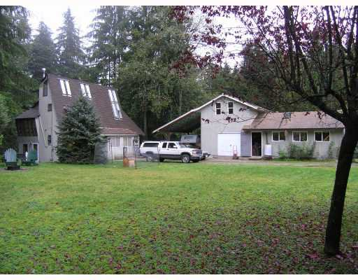 Main Photo: 11739 272ND Street in Maple_Ridge: Whonnock House for sale (Maple Ridge)  : MLS®# V648786