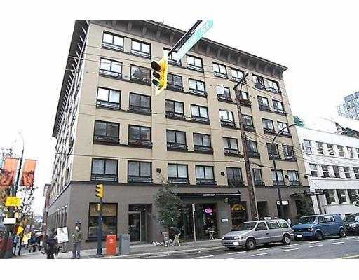 "Main Photo: 505 1216 HOMER Street in Vancouver: Downtown VW Condo for sale in ""THE MURCHIES BUILDING"" (Vancouver West)  : MLS®# V643562"