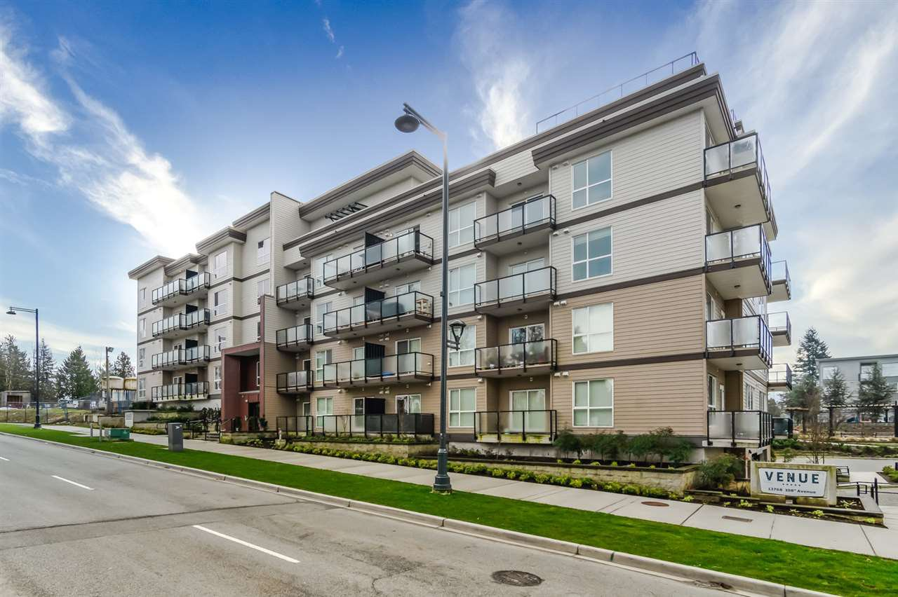 "Main Photo: 416 13768 108 Avenue in Surrey: Whalley Condo for sale in ""Venue"" (North Surrey)  : MLS®# R2508646"