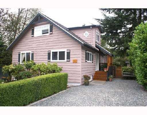 "Main Photo: 2650 CARNATION Street in North_Vancouver: Blueridge NV House for sale in ""BLUERIDGE"" (North Vancouver)  : MLS®# V666733"