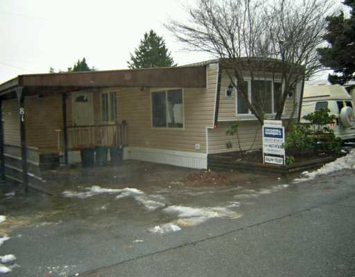 """Main Photo: 10221 WILSON Street in Mission: Mission-West Manufactured Home for sale in """"TRIPLE CREEK ESTATES"""" : MLS®# F2622377"""
