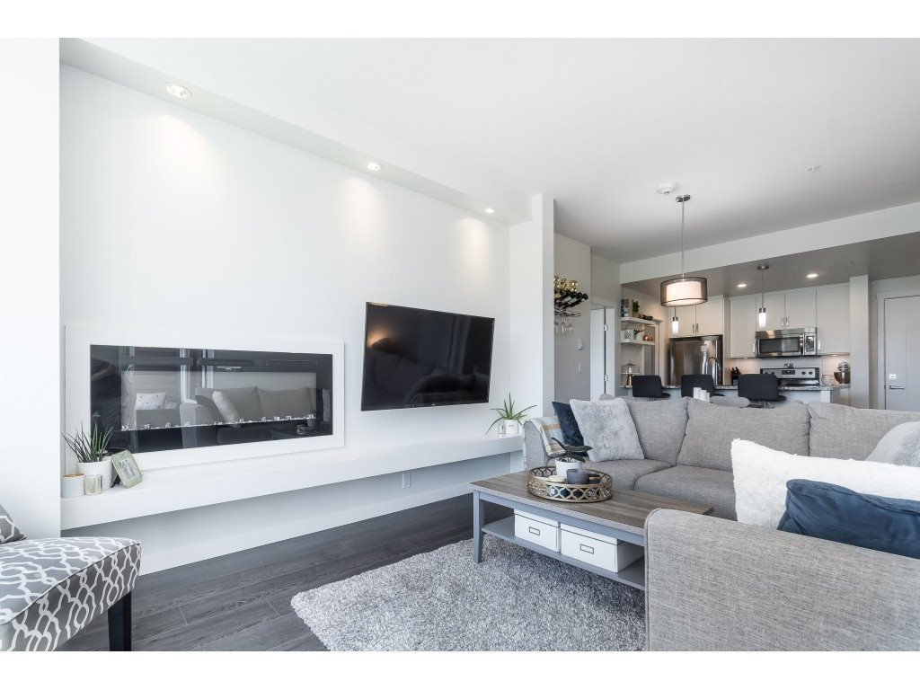 """Main Photo: 205 2242 WHATCOM Road in Abbotsford: Abbotsford East Condo for sale in """"WATERLEAF"""" : MLS®# R2455089"""