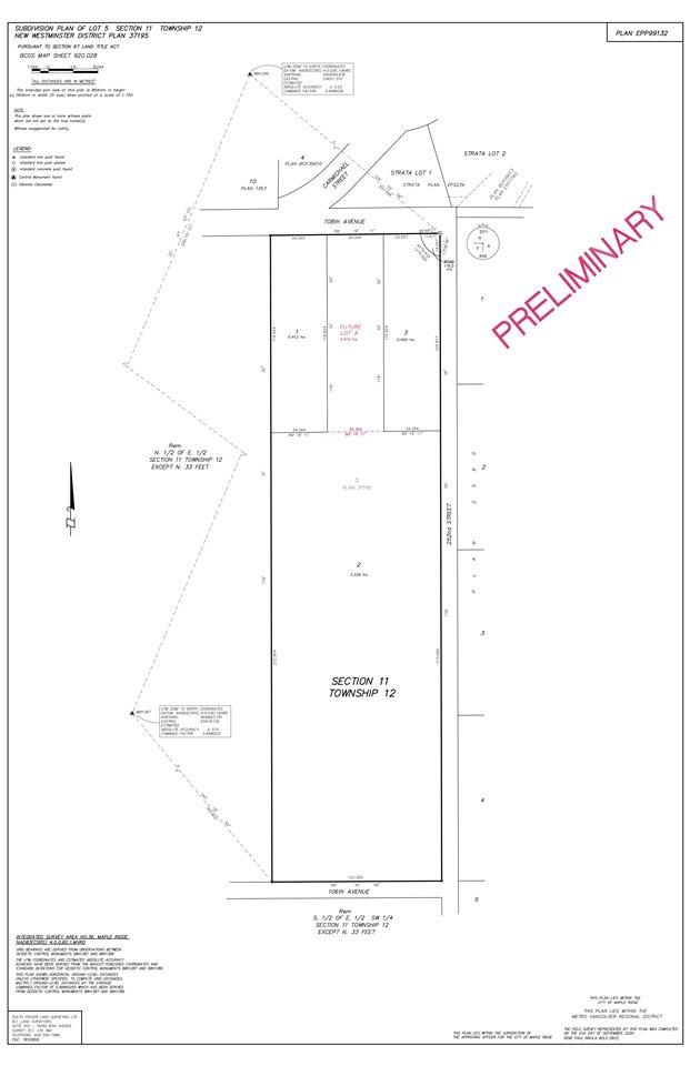 Main Photo: Lot 1 25180 W 108 Avenue in Maple Ridge: Thornhill MR Land for sale : MLS®# R2506029