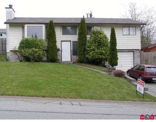 Main Photo: 7932 HERON Street in Mission: Mission BC House for sale : MLS®# F2708770