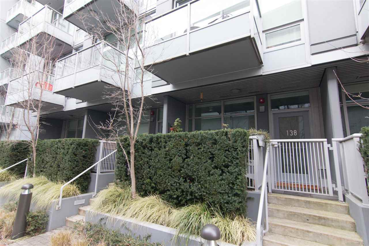 """Main Photo: 138 E 1ST Avenue in Vancouver: Mount Pleasant VE Townhouse for sale in """"Meccanica"""" (Vancouver East)  : MLS®# R2428727"""