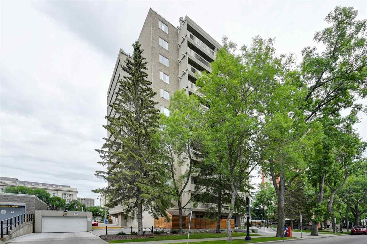 Main Photo: 602 9809 110 Street in Edmonton: Zone 12 Condo for sale : MLS®# E4205584