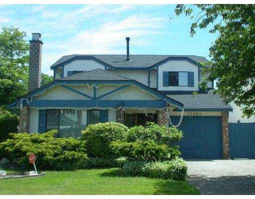 Main Photo: 10584 KOZIER DR in Richmond: Steveston North House for sale : MLS®# V543778