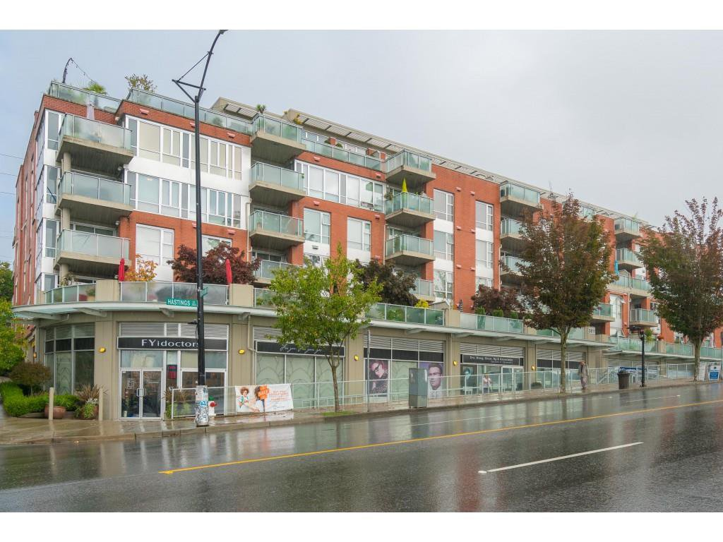 """Main Photo: 509 3811 HASTINGS Street in Burnaby: Vancouver Heights Condo for sale in """"Mondeo"""" (Burnaby North)  : MLS®# R2406468"""
