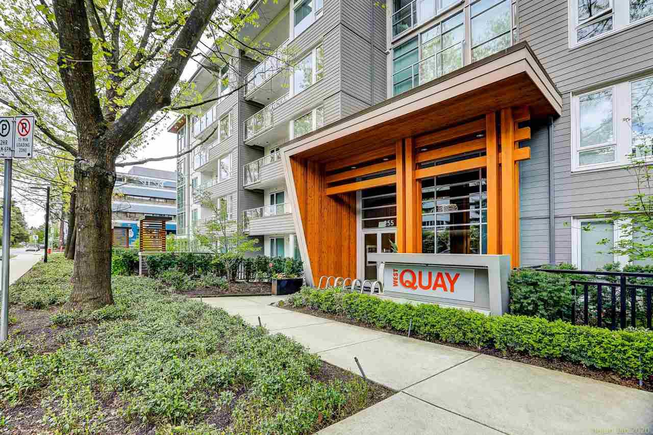 "Main Photo: 306 255 W 1ST Street in North Vancouver: Lower Lonsdale Condo for sale in ""WEST QUAY"" : MLS®# R2469889"