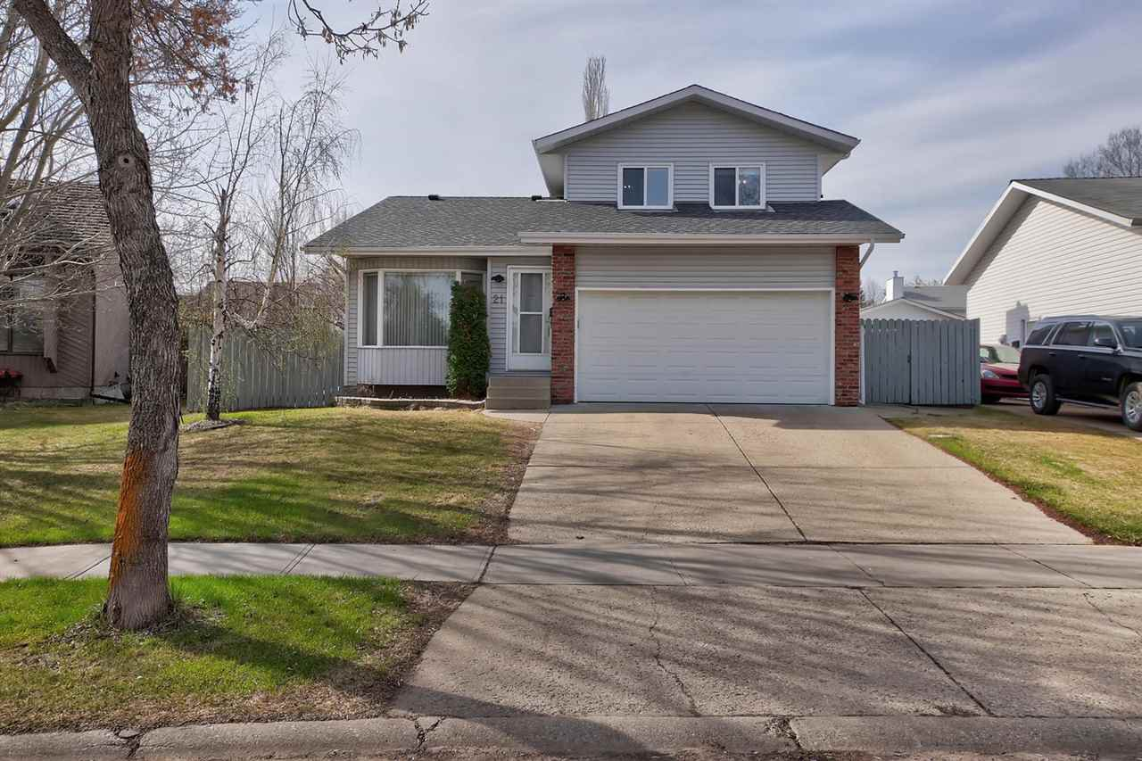 Main Photo: 21 PRINCETON Crescent: St. Albert House for sale : MLS®# E4196453