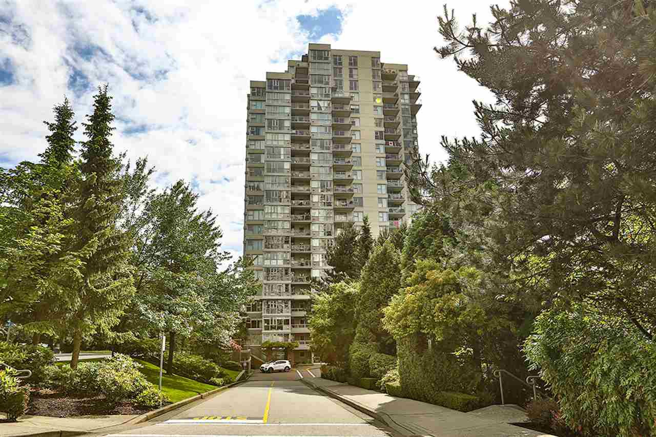 Main Photo: 1101 235 GUILDFORD WAY in Port Moody: North Shore Pt Moody Condo for sale : MLS®# R2465214