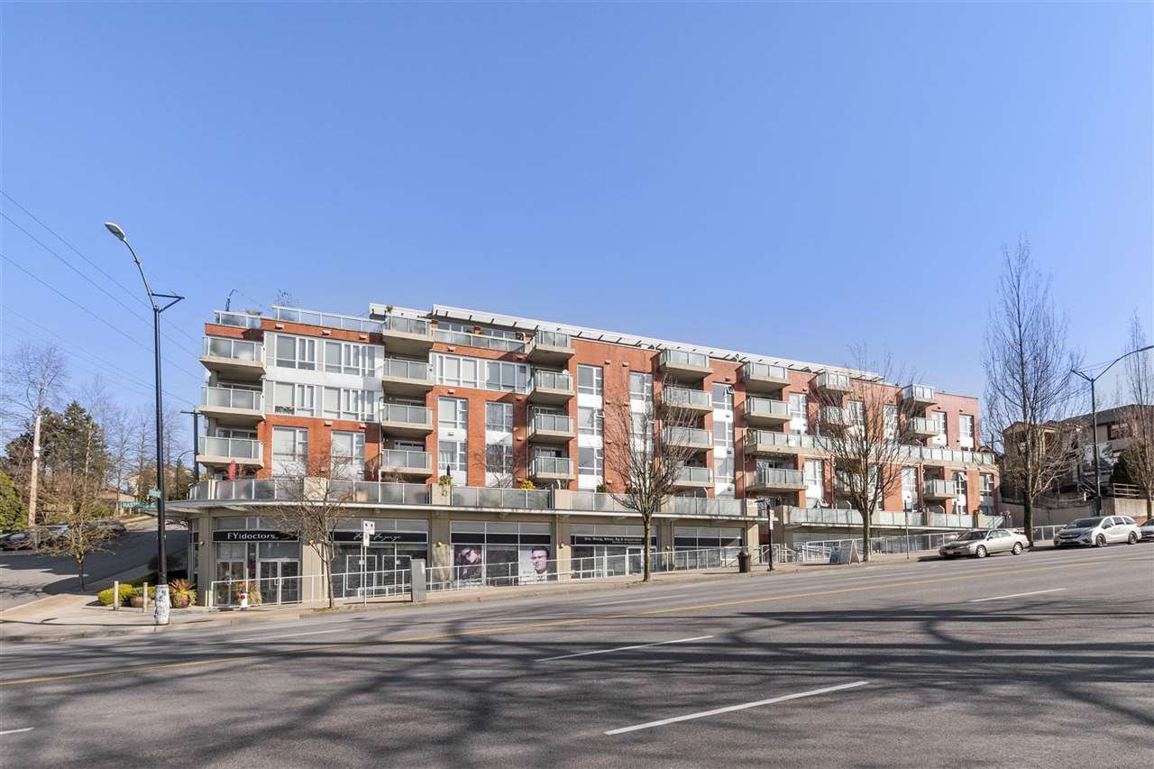 """Main Photo: 112 3811 HASTINGS Street in Burnaby: Vancouver Heights Condo for sale in """"MONDEO"""" (Burnaby North)  : MLS®# R2479103"""