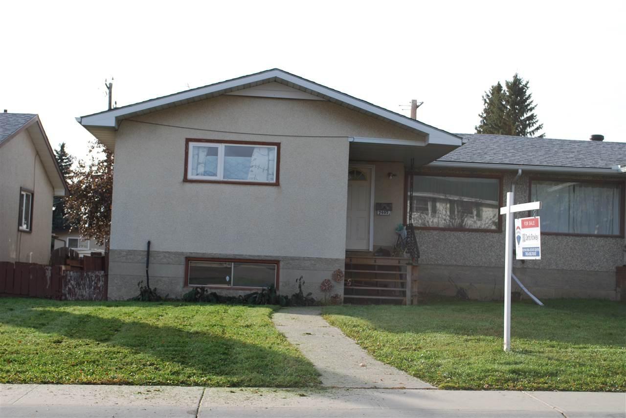 Main Photo: 7407 80 AV in Edmonton: Zone 17 House Half Duplex for sale : MLS®# E4170461