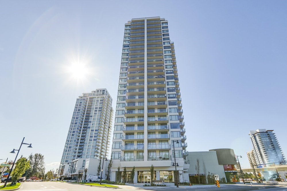 "Main Photo: 1407 602 COMO LAKE Avenue in Coquitlam: Coquitlam West Condo for sale in ""Uptown"" : MLS®# R2434740"