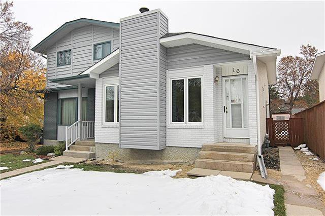 Main Photo: 16 John Forsyth Road in Winnipeg: River Park South Residential for sale (2F)  : MLS®# 1928673