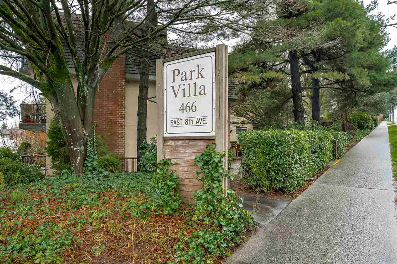 "Main Photo: 307 466 E EIGHTH Avenue in New Westminster: Sapperton Condo for sale in ""Park Villa"" : MLS®# R2448210"