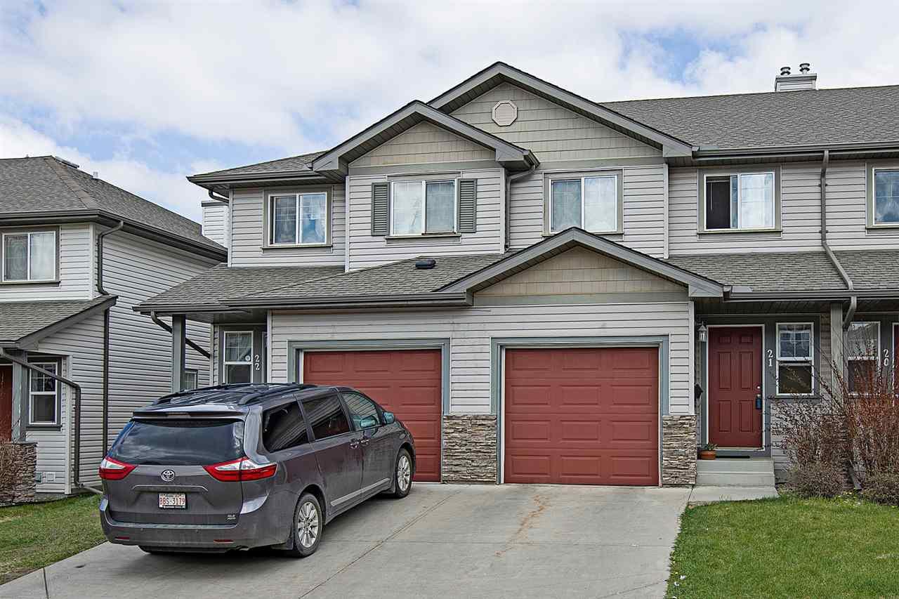 Main Photo: 21 2816 34 Avenue in Edmonton: Zone 30 Townhouse for sale : MLS®# E4202564