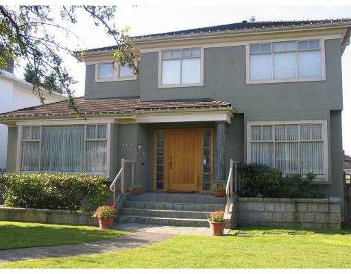 """Main Photo: 468 W 38TH AV in Vancouver: Cambie House for sale in """"OAKRIDGE"""" (Vancouver West)  : MLS®# V563075"""