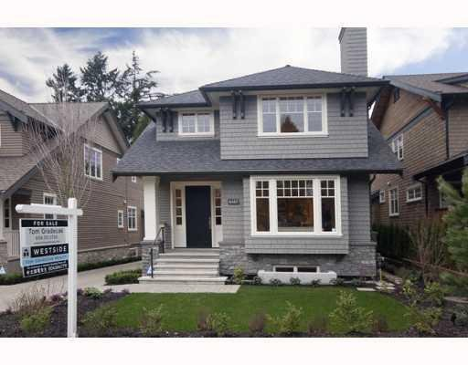 Main Photo: 6467 LARCH ST in Vancouver: Kerrisdale House for sale (Vancouver West)  : MLS®# V809807