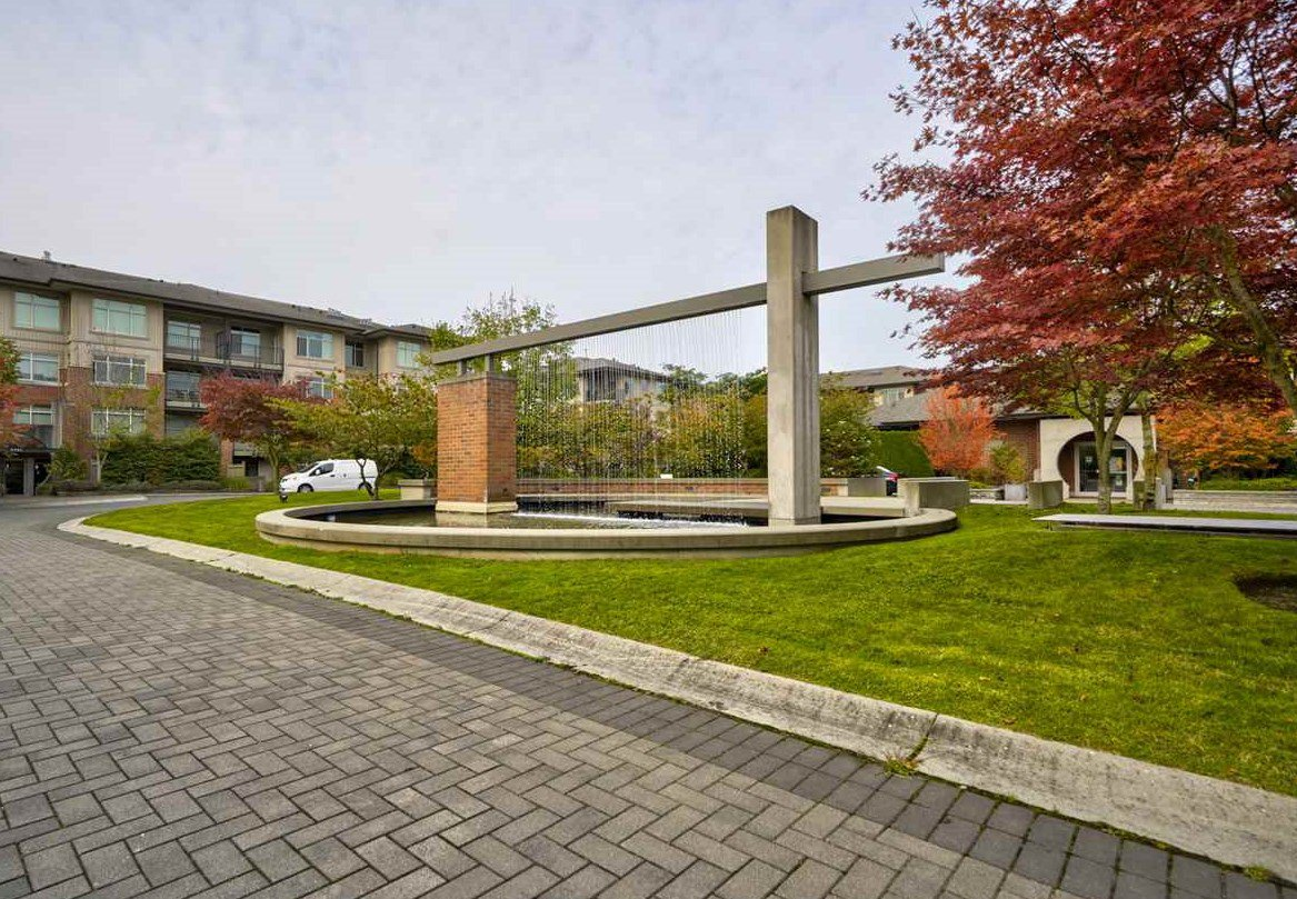 "Main Photo: 217 9288 ODLIN Road in Richmond: West Cambie Condo for sale in ""MERIDIAN GATE"" : MLS®# R2504220"