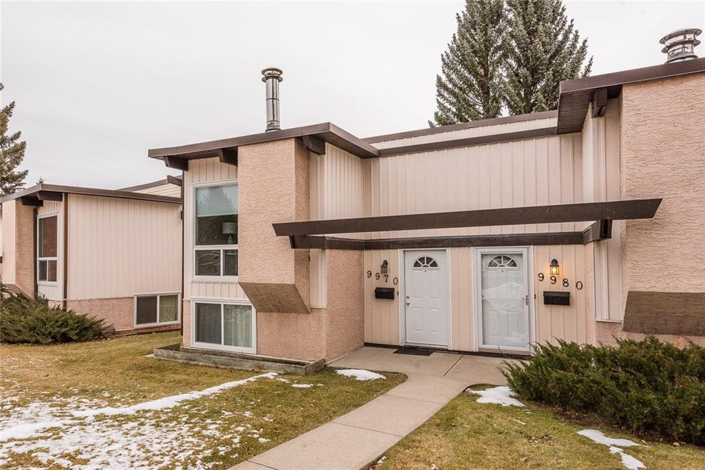 Main Photo: 9970 26 Street SW in Calgary: Oakridge Semi Detached for sale : MLS®# C4275801