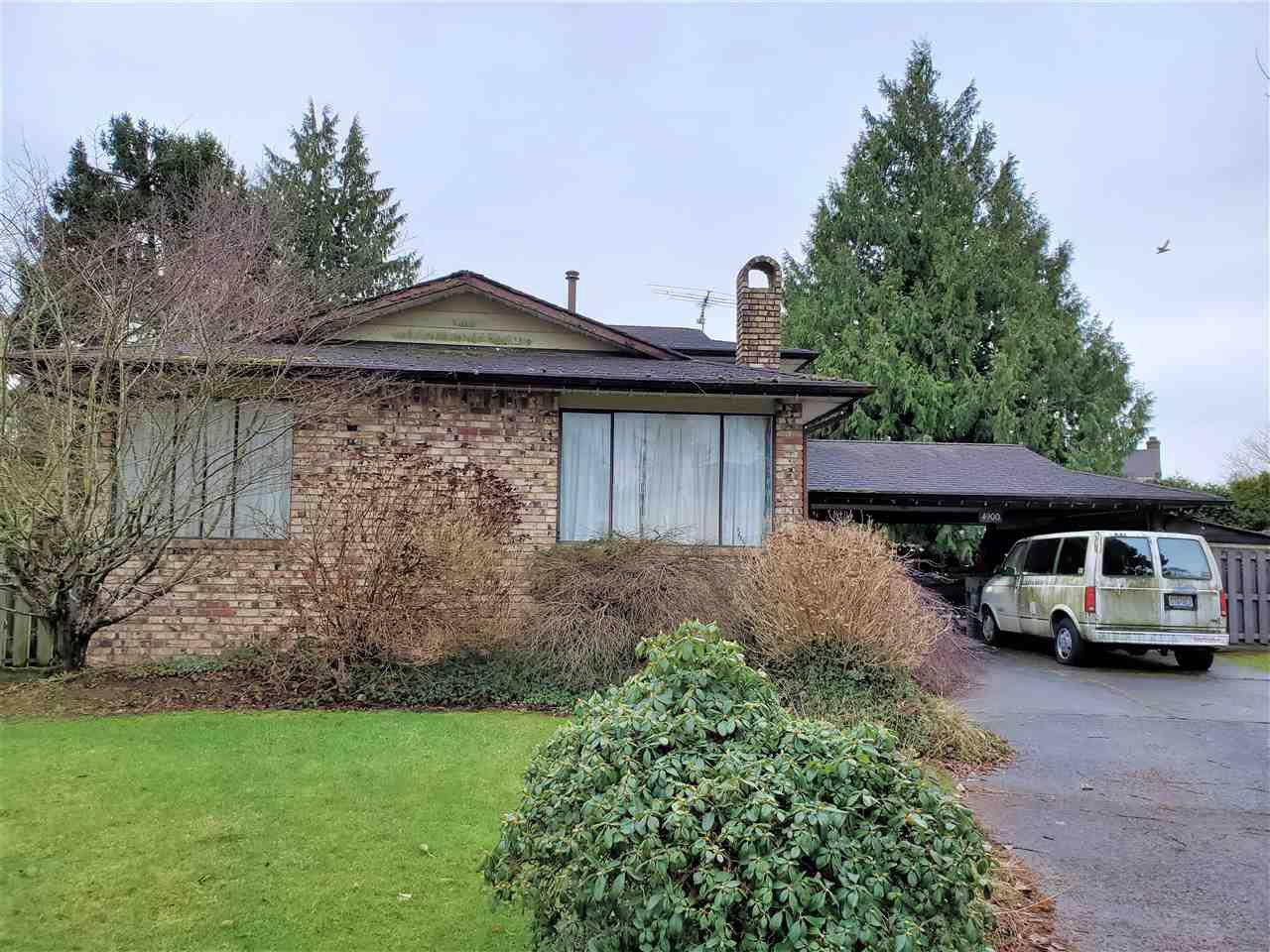 Main Photo: 4900 FORTUNE Avenue in Richmond: Steveston North House for sale : MLS®# R2432774