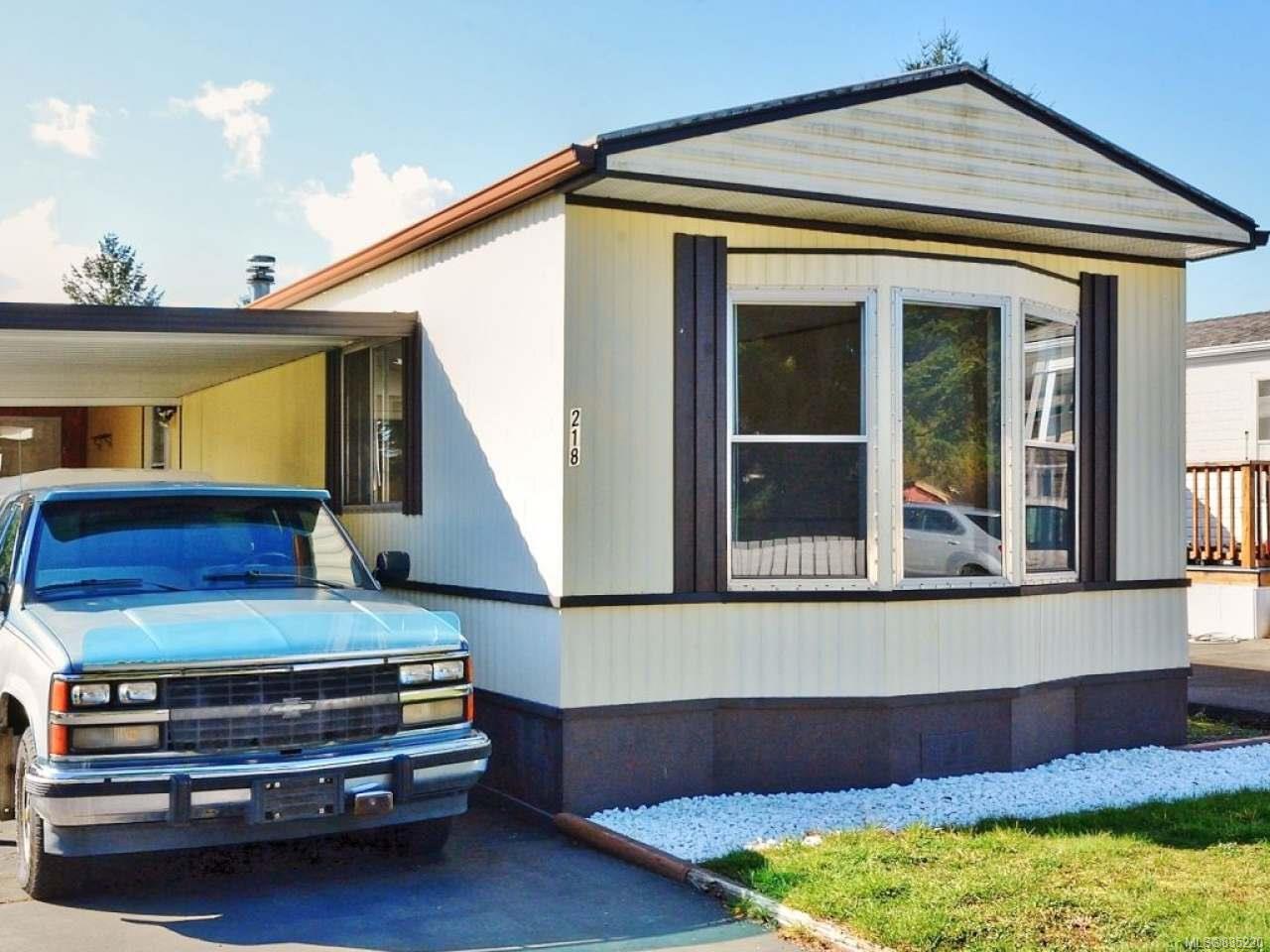 Main Photo: 218 2465 Apollo Dr in NANOOSE BAY: PQ Nanoose Manufactured Home for sale (Parksville/Qualicum)  : MLS®# 835220