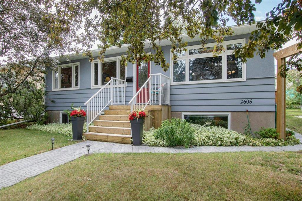 Updated raised bungalow with great curb appeal
